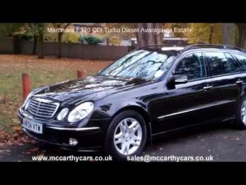 Used mercedes e320 cdi turbo diesel avantgarde estate hf04 for 2005 mercedes benz e320 cdi diesel for sale