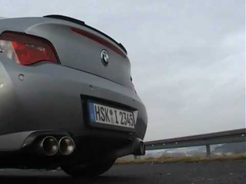 BMW Z4 COUPE 30si CAPRISTO EXHAUST Klappenanlage Sound with