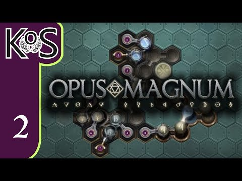 Opus Magnum Ep 2: CH 1: REFINED GOLD, FACE POWDER, SEALANT - Programming/Logic Gameplay Early Access
