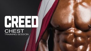 Brustmuskelübung Creed
