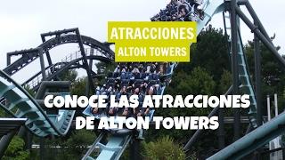 Gambar cover Descubre las atracciones de Alton Towers