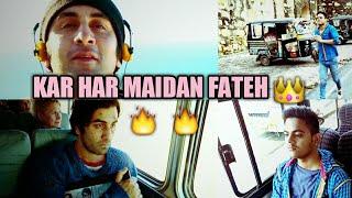 KAR HAR MAIDAAN FATEH ft Ranbir Kapoor | Rajkumar Hirani || video song 2018 by ROHIT SHARMA