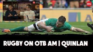 Sexton injury report | Alcohol vs fitness | Beauden Barrett | Alan Quinlan