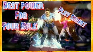dcuo best power for your role