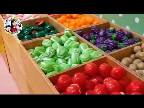 #水果遊戲 #玩具水果 #水果   【親子】認識蔬菜水果,比賽找水果,比賽到最後Keykyo媽手機竟然GG了