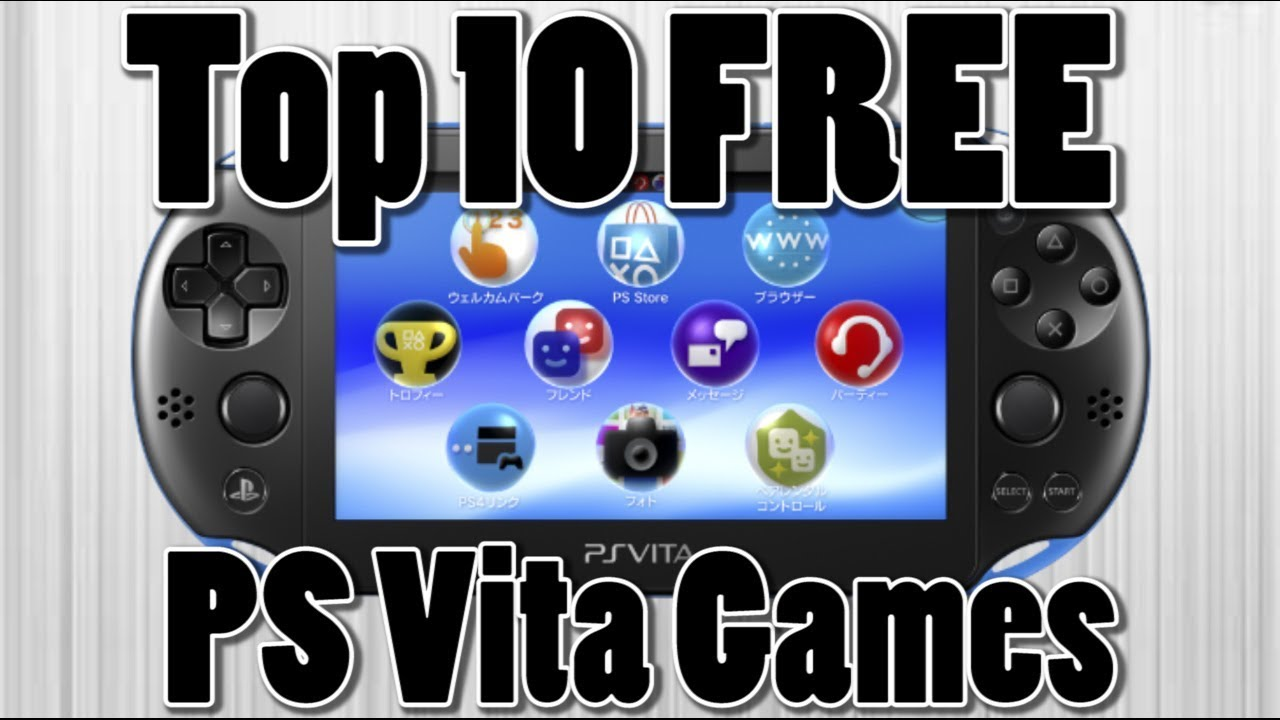 Top 10 Free PS Vita Games of All Time | PS Vita Giveaway (Active) - YouTube