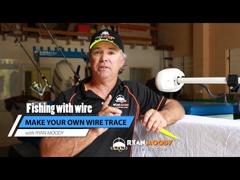 Make Your Own Wire Trace When Fishing For Mackerel