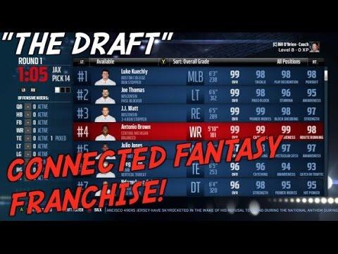 nhl 17 how to start franchise draft