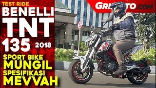 Benelli TNT 135 2018 | Test Ride Review | GridOto