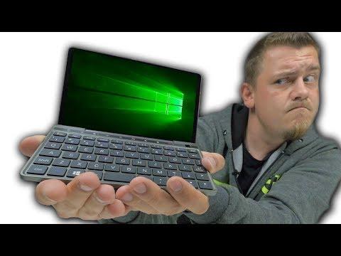 Самый Маленький Ноутбук в Мире!