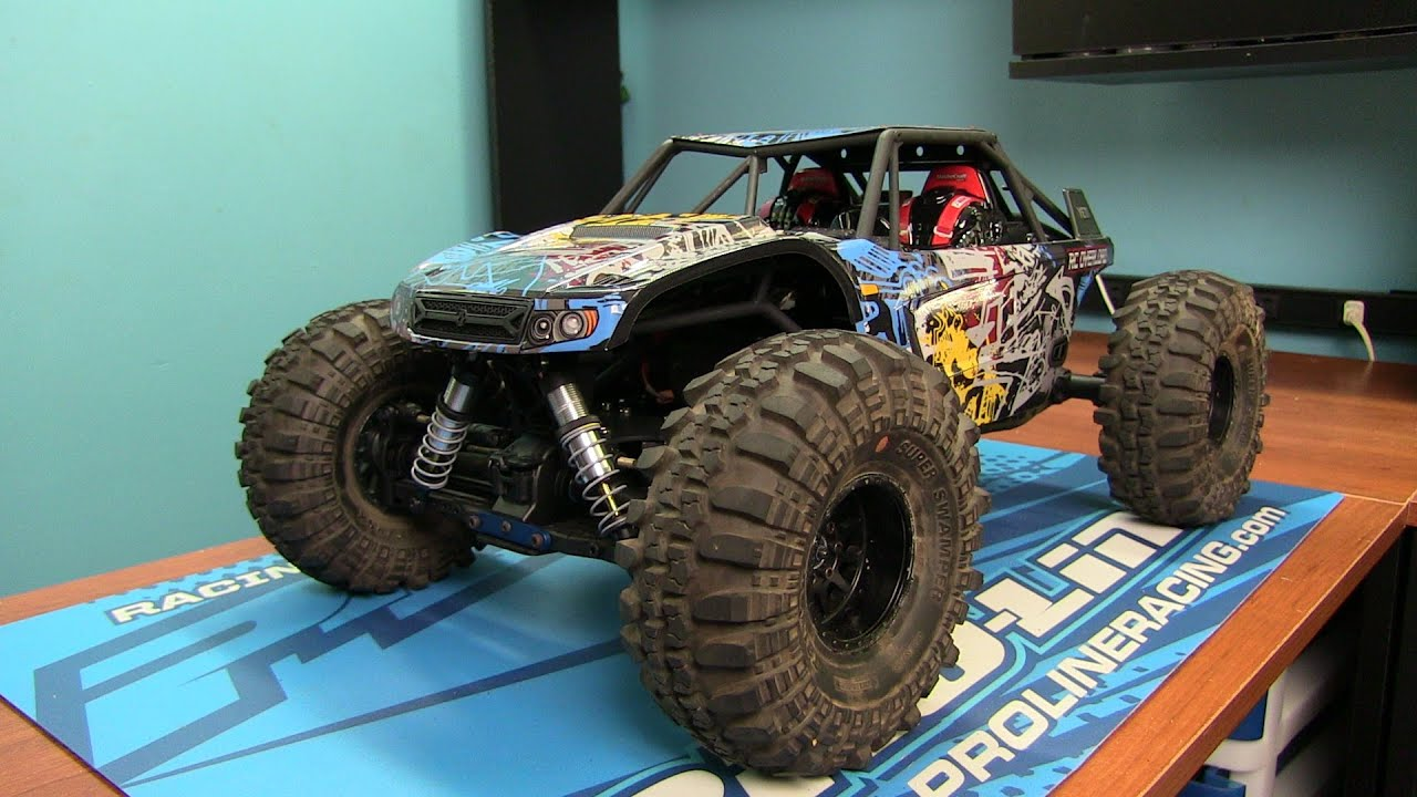Axial Yeti Kit Yeti X Build How to Install the body and What Wheels To Use