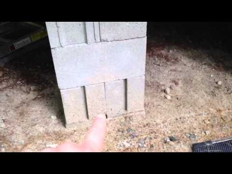 How To Use Cinder Blocks To Stabilize a RV Camper or Trailer