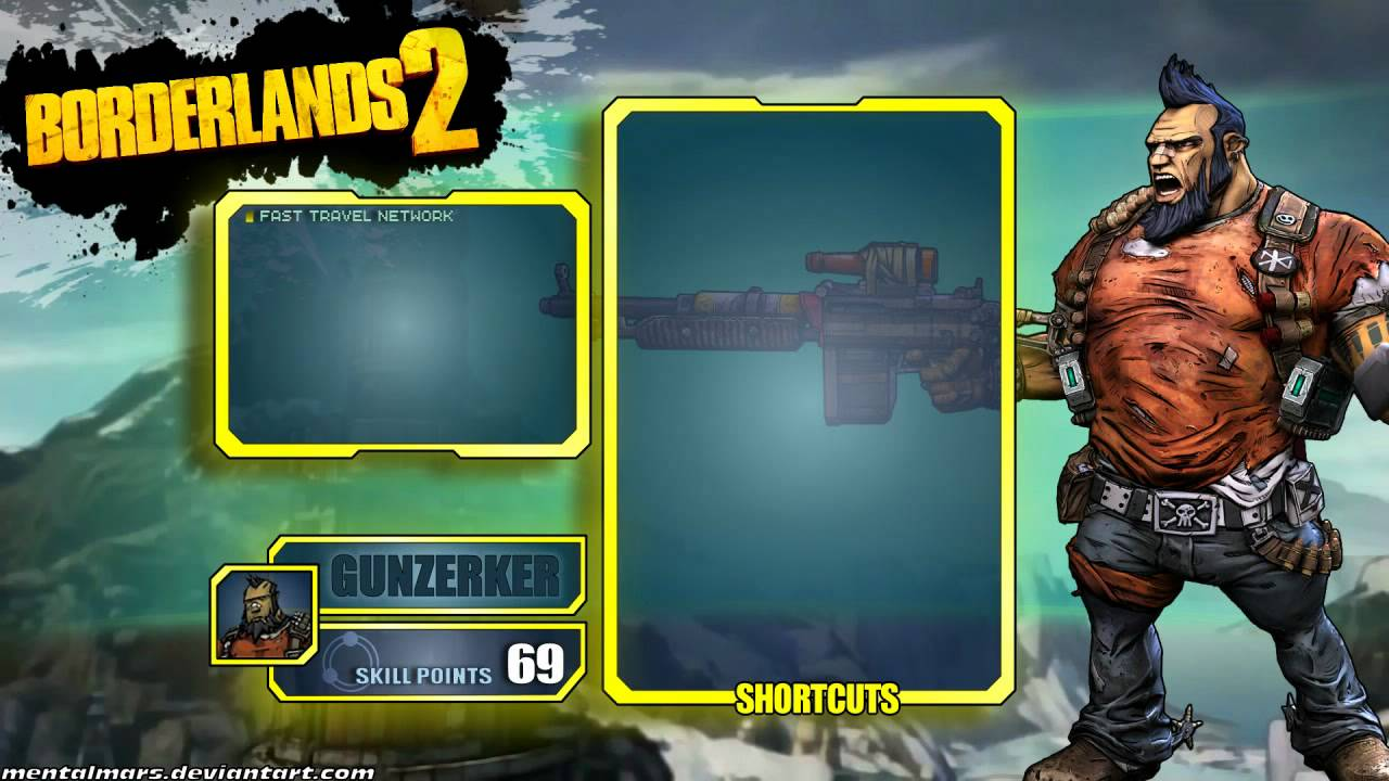 Borderlands 2 Wallpaper pack - The Interface - YouTube Borderlands 2 Max Backpack