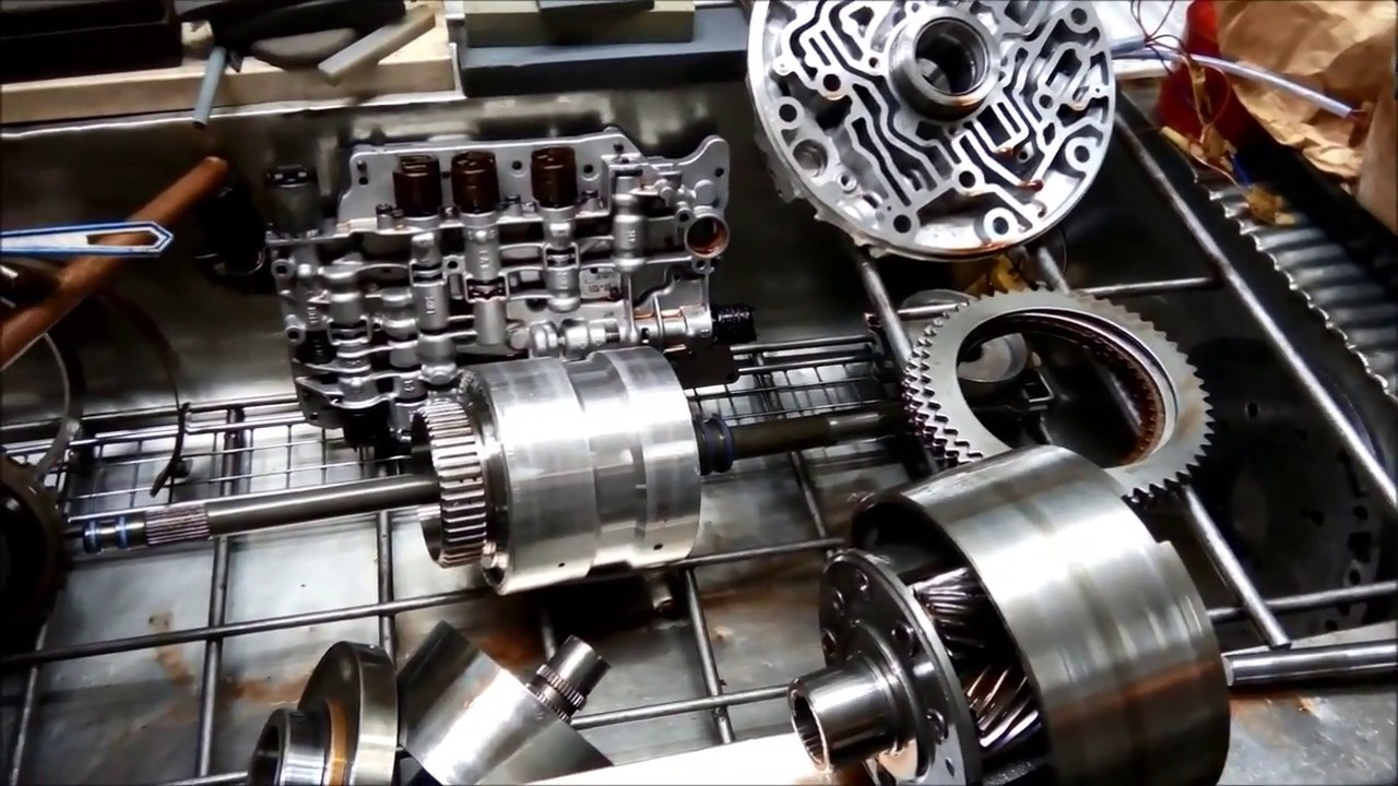 Ford BTR ION DSI 4 Speed Automatic Transmission XR8 Blown Planetary Set  Analysis