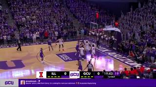 Highlights from gcu basketball vs illinois.for more information including the schedule, visit gculopes.com