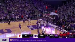 Highlights: GCU Basketball vs Illinois | Nov 8, 2019