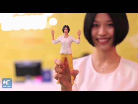 Create your own Mini Me with 3D printing