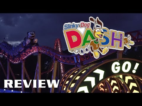 Slinky Dog Dash Review Disney's Hollywood Studios New For 2018 Roller Coaster