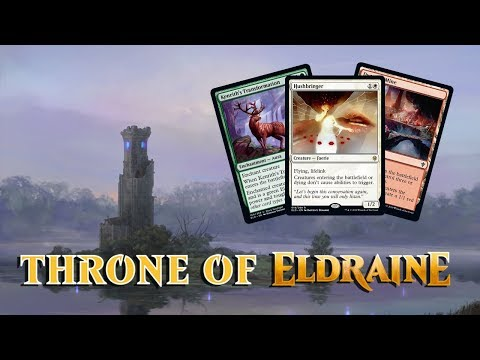 Daily Throne of Eldraine Spoilers — September 19, 2019   Hushbringer, Full Set!