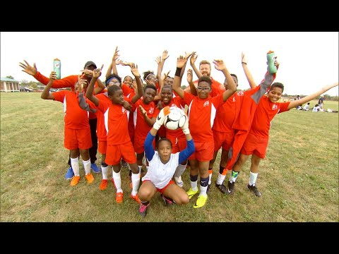 Middle School Soccer Team Surprised With Uniforms And Equipment