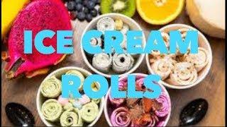 ice cream rolls sin mquina 2 ingredientes expectativa realidad