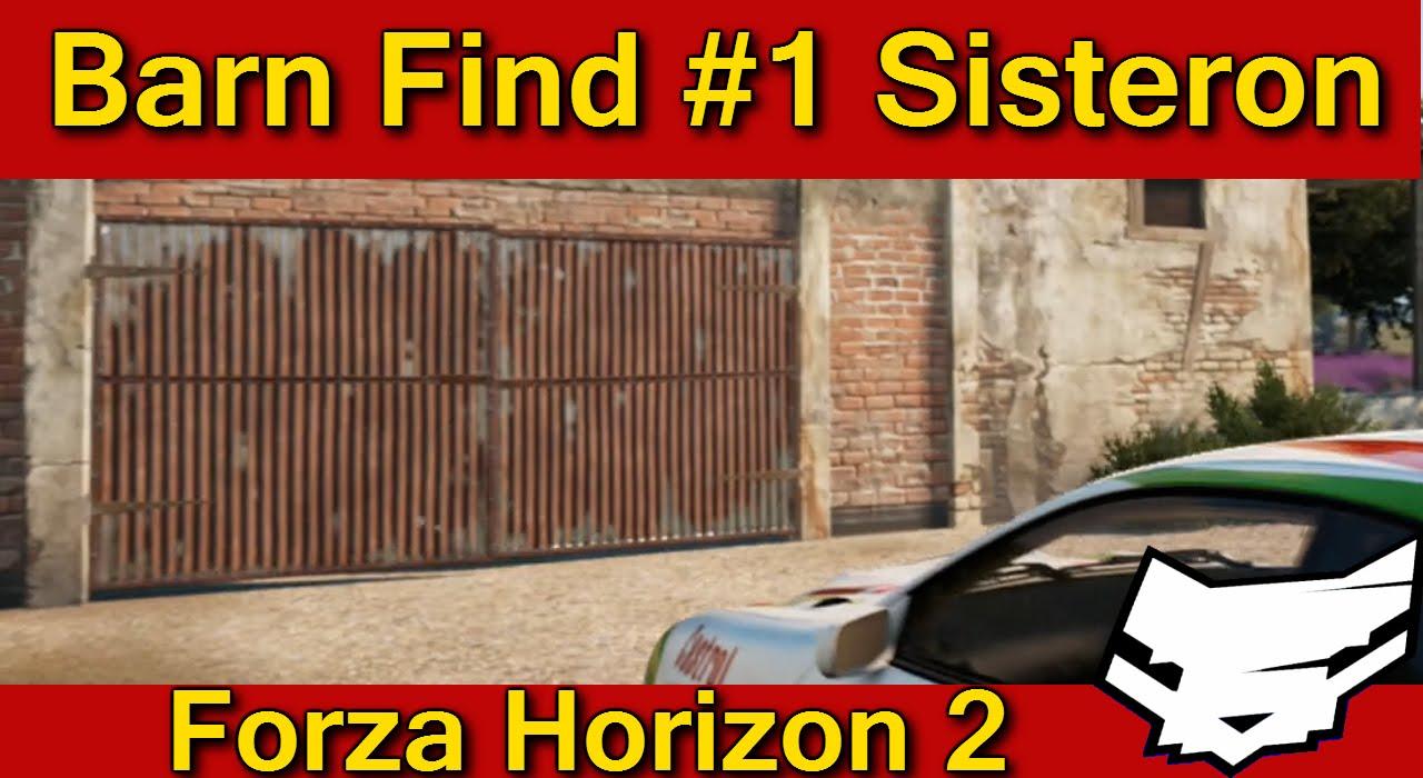Forza Horizon 2 Barn Find 1 Sisteron Youtube