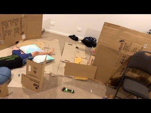 DIY Cardboard House with Solar Roof