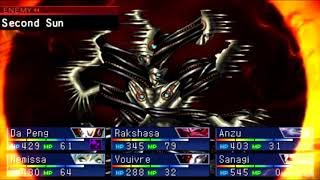 Shin Megami Tensei Devil Summoner Soul Hackers FINAL Boss Manitou [HARD]