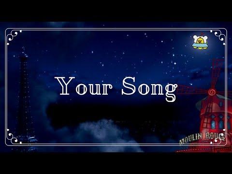 Your Song [Drum Cover] - Ewan McGregor & Alessandro Safina
