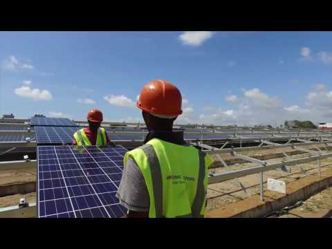 SolarAfrica Delivers East Africa's Largest Industrial Solar