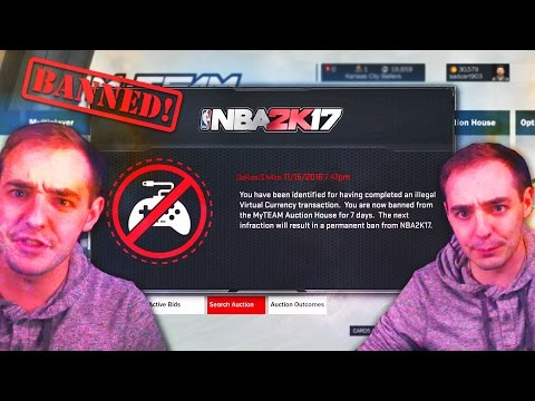 BANNED ON NBA 2K17? LISTEN HERE DONT GET BANNED! WARNING!