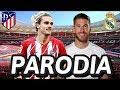 Canción Atleti vs Real Madrid 1-3 (Parodia Una Lady Como Tú - Manuel Turizo)