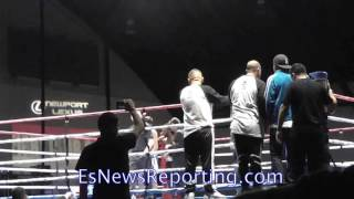 Ko win by Ruben Martinez - EsNews Boxing