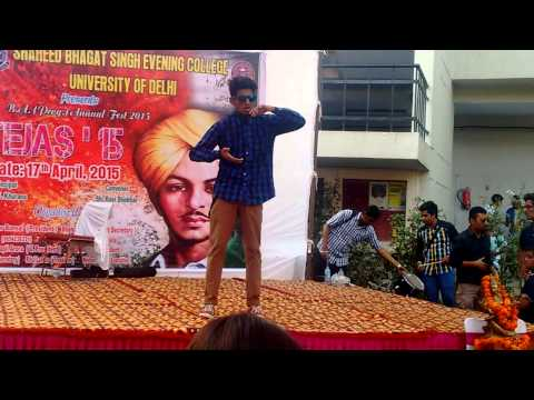 Kahin toh hogi woh with skrillex ( remix)..dance performance by Vishal Mourya