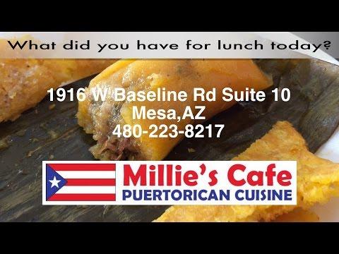 Millie's Cafe Mesa Arizona | Puerto Rican Cuisine