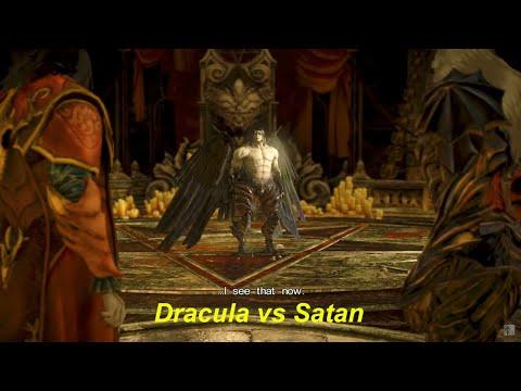 """Lords of Shadow 2 Dracula vs Satan """" Bosses"""