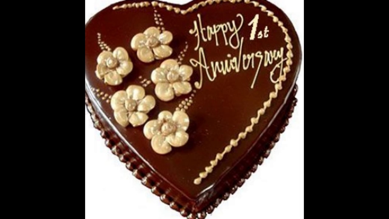 Happy wedding anniversary cakes for friends youtube