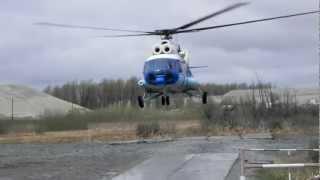 ми 8 Посадка вертолета