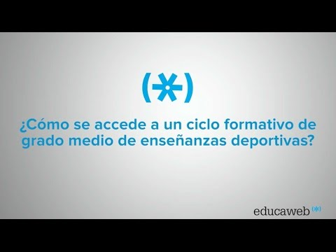 Enseñanzas Deportivas De Grado Medio Educaweb Com
