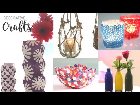 Decorative Craft Ideas | DIY Room Decor | Projects For Home
