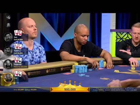 Highlights - HKD $250k Short Deck Ante Only - Heads up