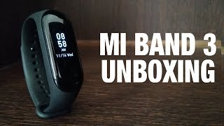 Mi Band 3 Unboxing & overview | Xiaomi Mi band 3 | Hindi | By Aayush Technical