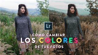 CÓMO CAMBIAR LOS COLORES DE TUS FOTOS EN ADOBE LIGHTROOM // COMO EDITAR EN LIGHTROOM // TUTORIAL