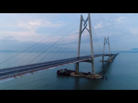 Amazing China: Hong Kong-Zhuhai-Macao Project Raises Bridge, Tunnel Engineering to New Heights