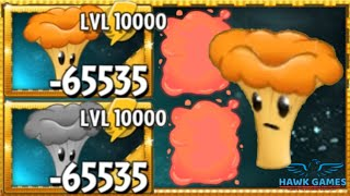 Plants vs Zombies 2 Lava-shroom Upgraded to Level 10000 PvZ2