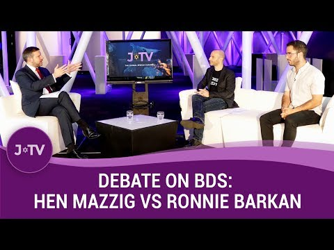 Head to head debate on BDS: Hen Mazzig vs Ronnie Barkan