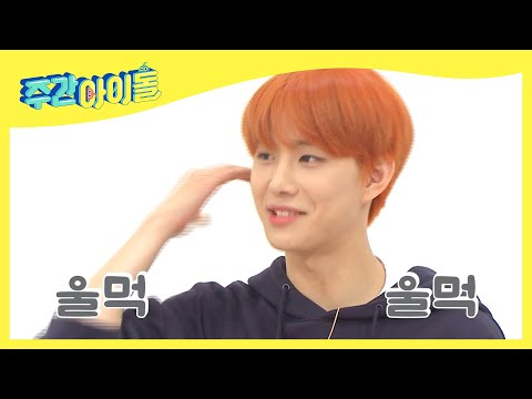 [Weekly Idol EP.378] nervous Jungwoo's Self report