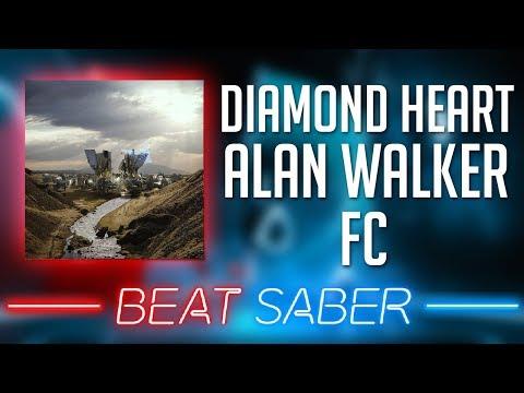 Diamond Heart - Alan Walker FC (Beat Saber Custom Song)