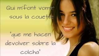Alizée- J´en ai marre (Al español) HQ
