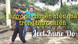Võ Thuật Tự Vệ #9 | Học Bước Di Chuyển Hiệu Quả Trong Thực Chiến | Di Chuyển Jeet KuneDo Wing chun